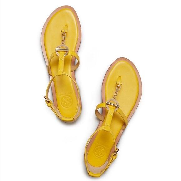 Tory Burch Shoes - {Tory Burch} Toggle Flat Sandals